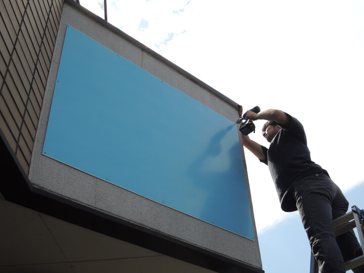 280530 看板施工 - トータルエステショップの看板施工を担当させていただきました。