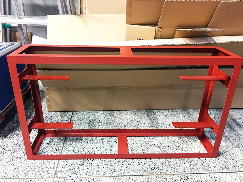 310426 看板リメイク 3 - 【岐阜県岐阜市】古くて劣化していた鉄骨看板をリメイク・再利用!電飾看板の納品をしました。
